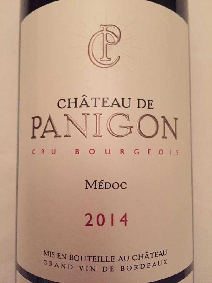 Château de Panigon 2014 – Médoc – Cru Bourgeois