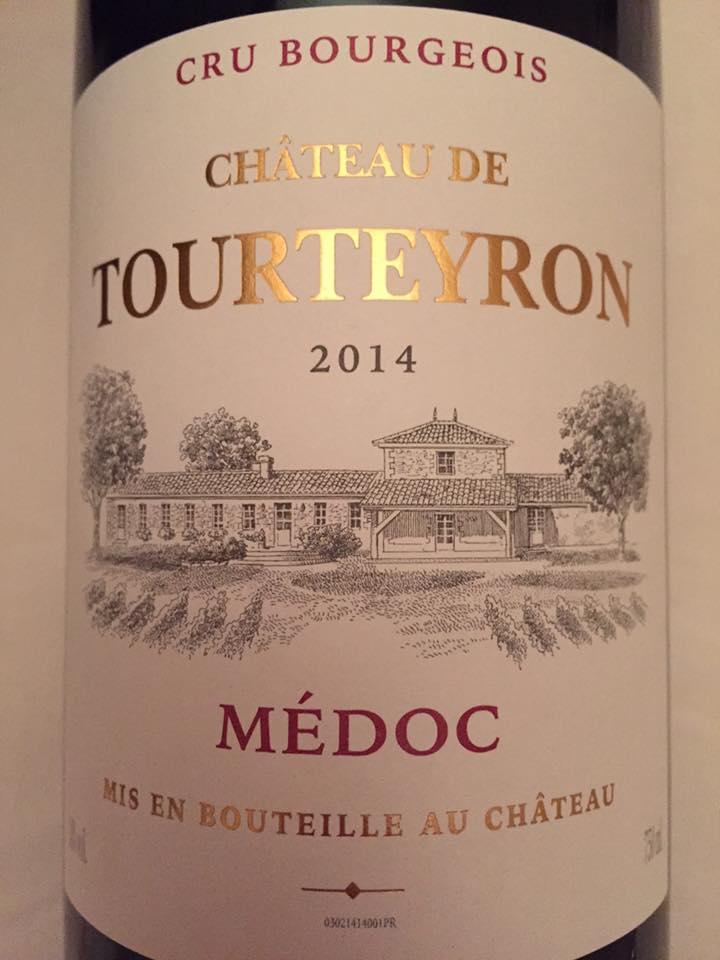 Château de Tourteyron 2014 – Médoc – Cru Bourgeois