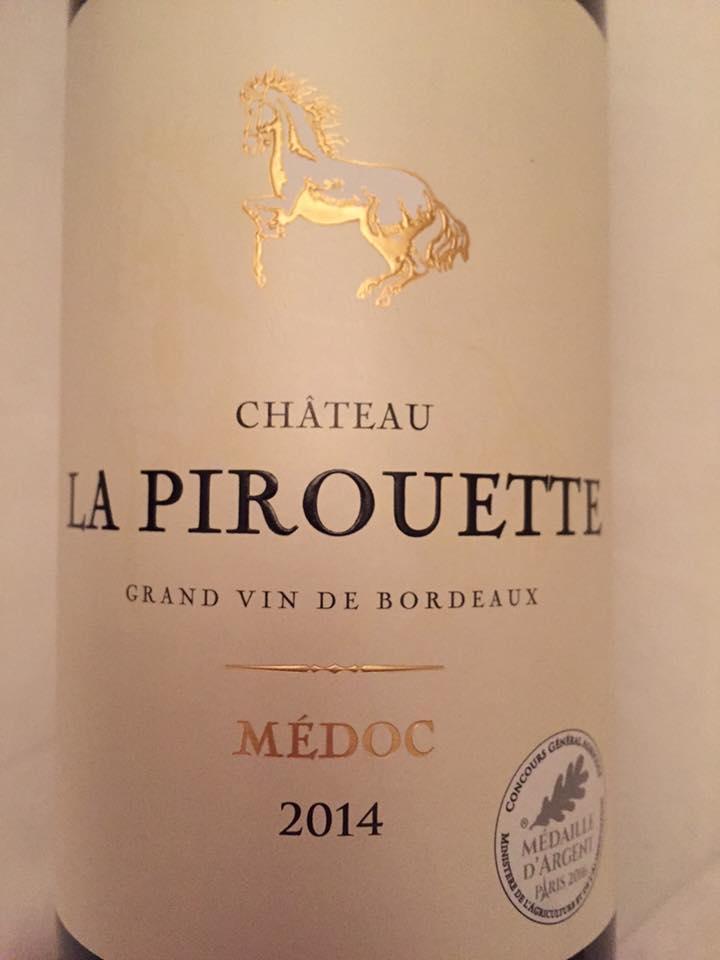 Château La Pirouette 2014 – Médoc – Cru Bourgeois