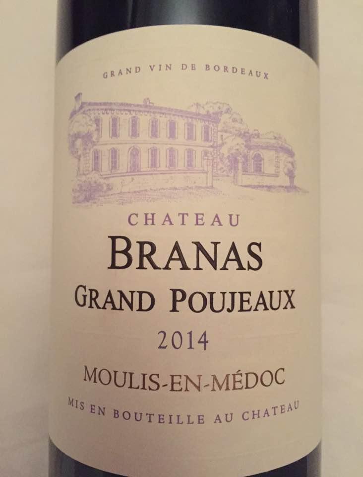 Château Branas Grand Poujeaux 2014 – Moulis-en-Médoc – Cru Bourgeois
