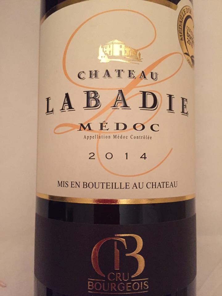 Château Labadie 2014 – Médoc – Cru Bourgeois