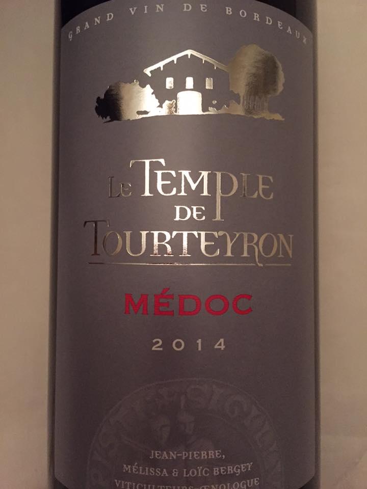 Le Temple de Tourteyron 2014 – Médoc – Cru Bourgeois
