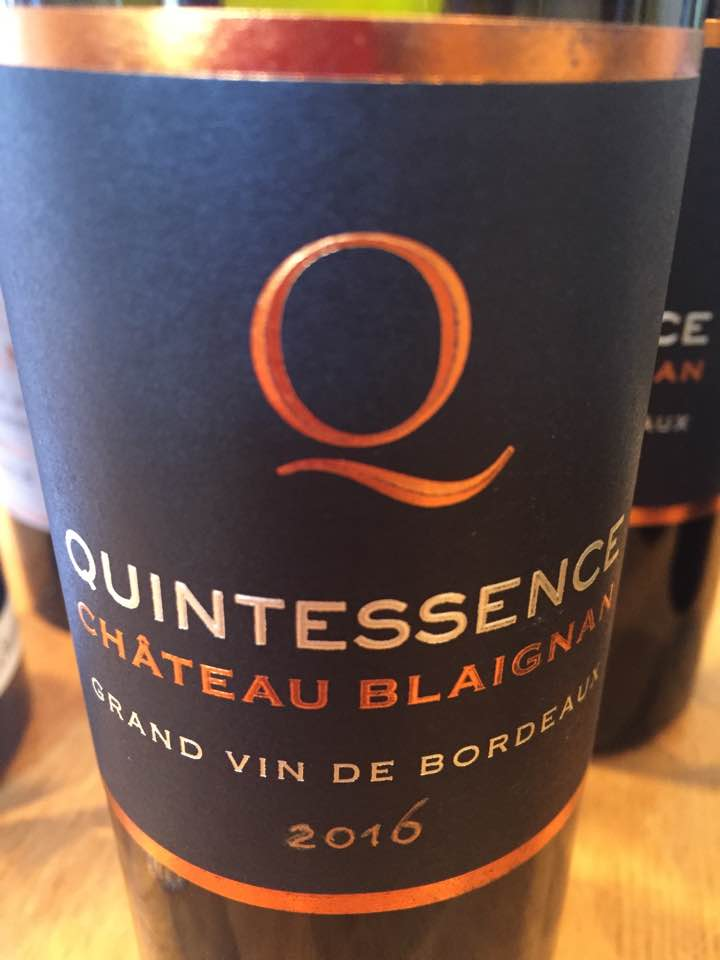 Quintessence du Château Blaignan 2016 – Médoc