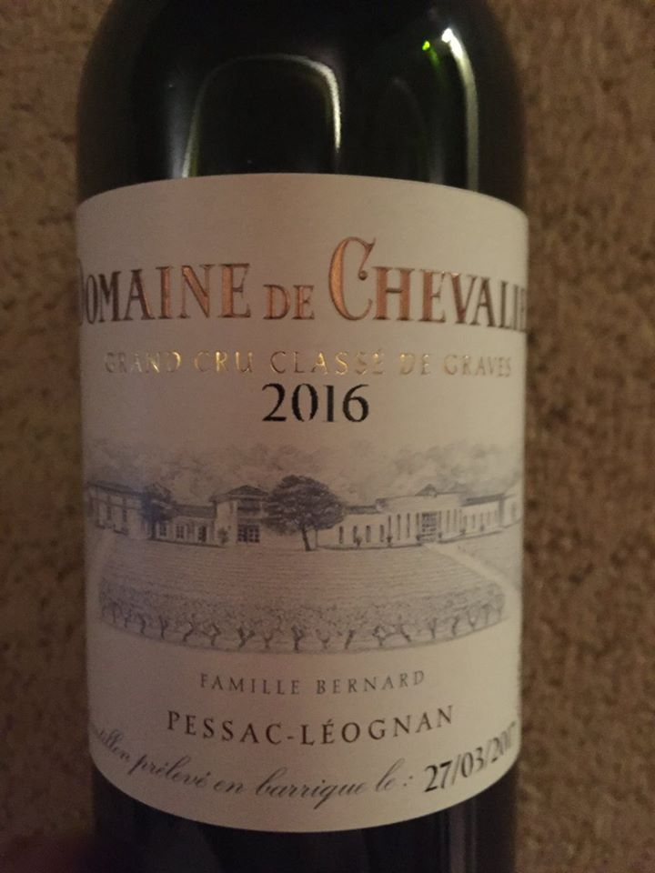 Domaine de Chevalier 2016 – Pessac-Léognan – Grand Cru Classé