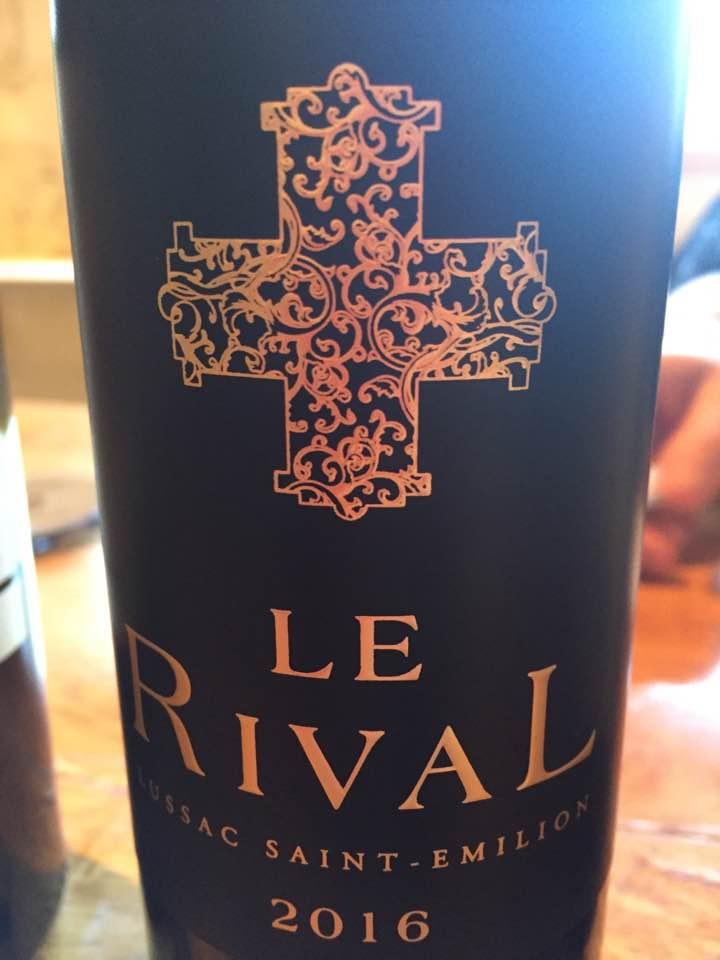 Le Rival 2016 – Lussac Saint-Emilion