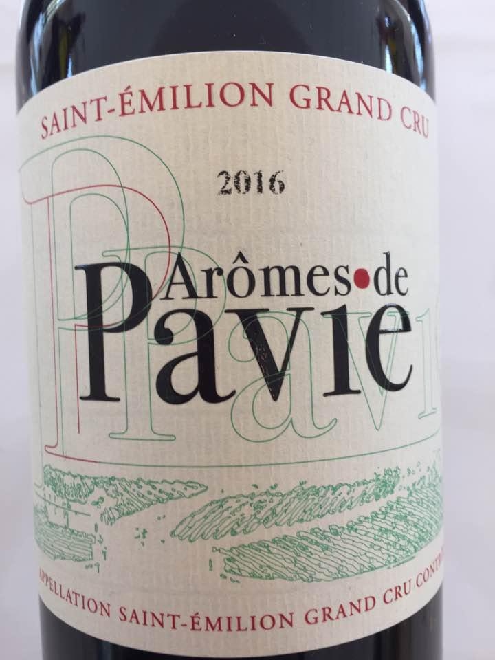 Aromes de Pavie 2016 – Saint-Emilion Grand Cru