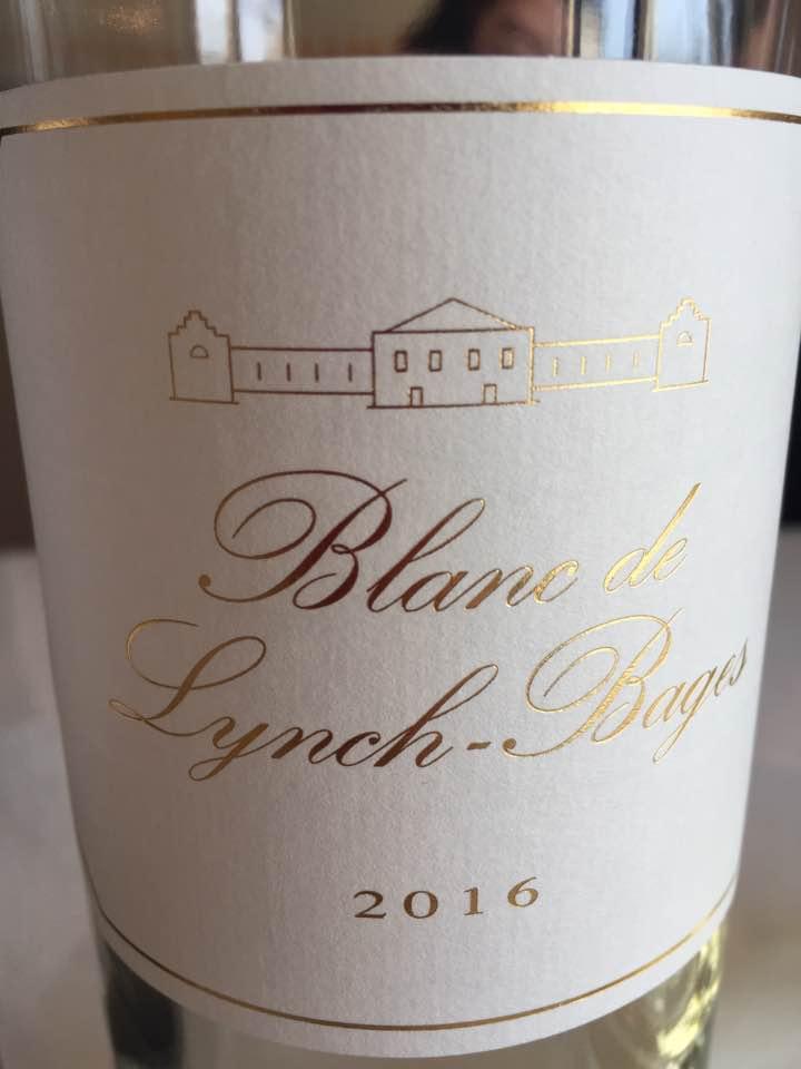 Blanc de Lynch-Bages 2016 – Bordeaux