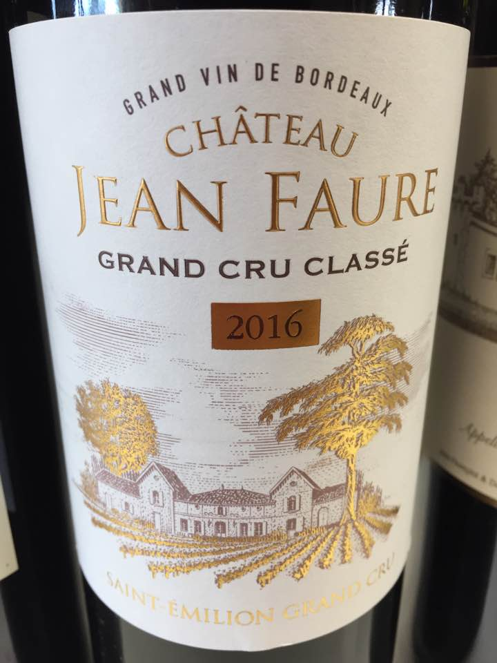 Château Jean Faure 2016 – Saint-Emilion Grand Cru Classé