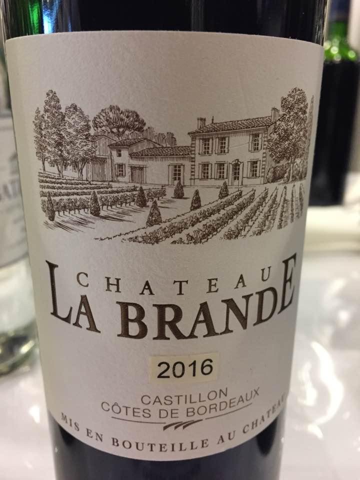 Château La Brande 2016 – Castillon Côtes-de-Bordeaux