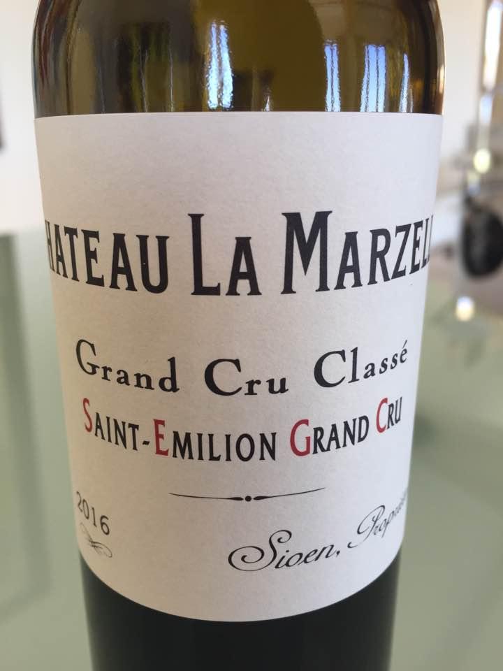 Château La Marzelle 2016 – Saint-Emilion Grand Cru Classé