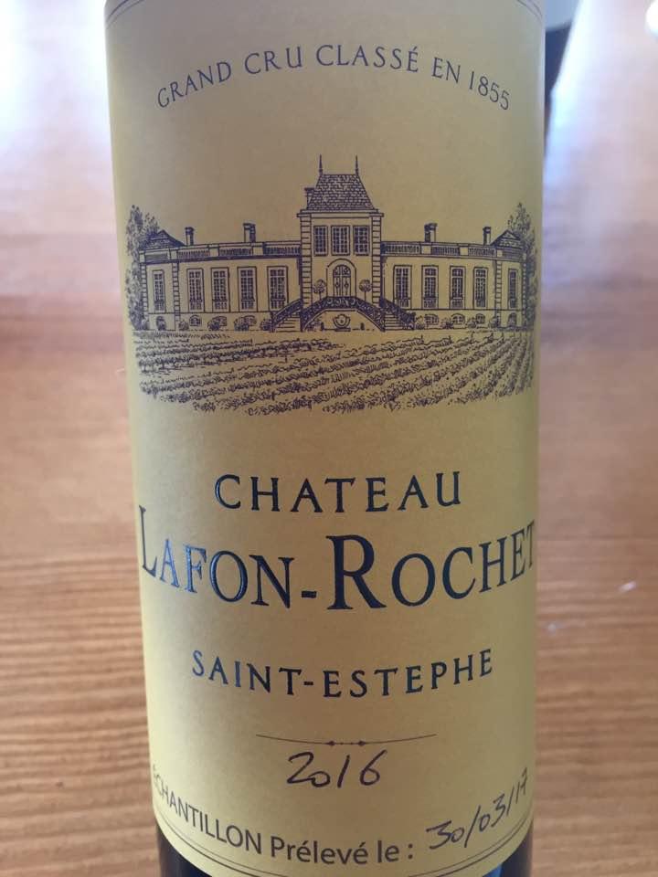 Château Lafon-Rochet 2016 – Saint-Estèphe, 4ème Grand Cru Classé
