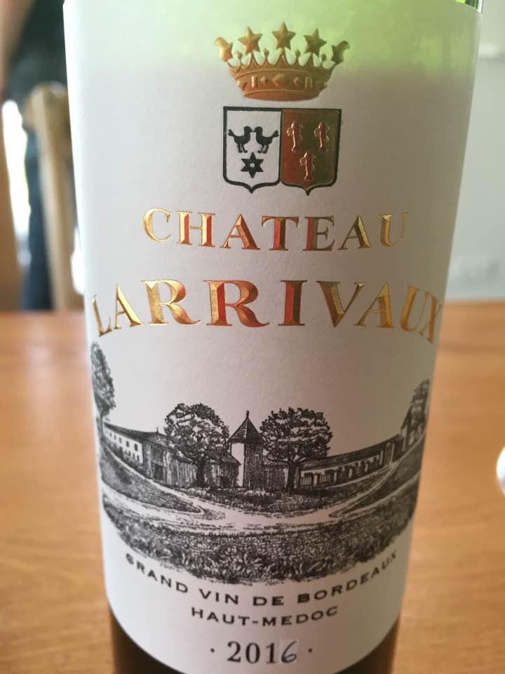 Château Larrivaux 2016 – Haut-Médoc