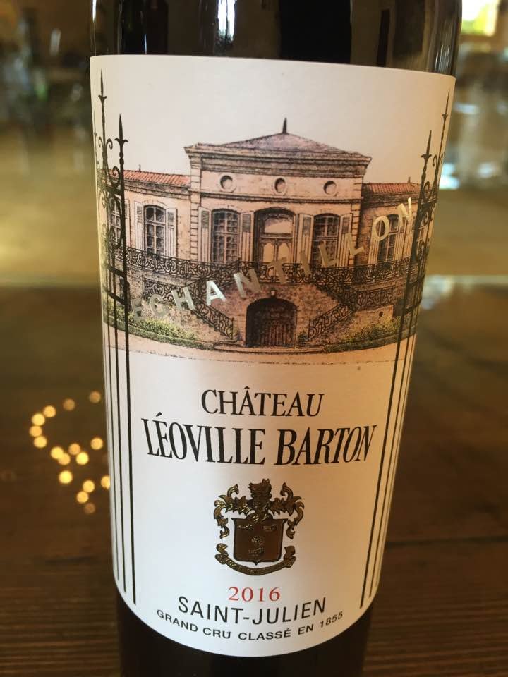 Château Léoville Barton 2016 – Saint-Julien, 2ème Cru Classé