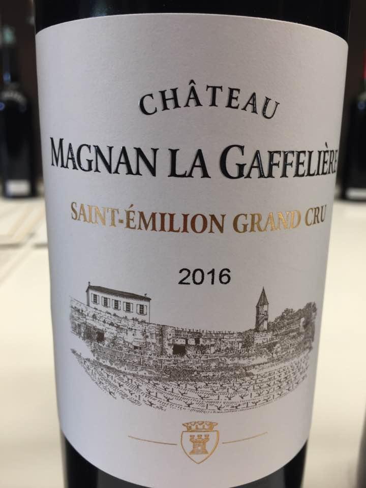 Château Magnan la Gaffelière2016 – Saint-Emilion Grand Cru