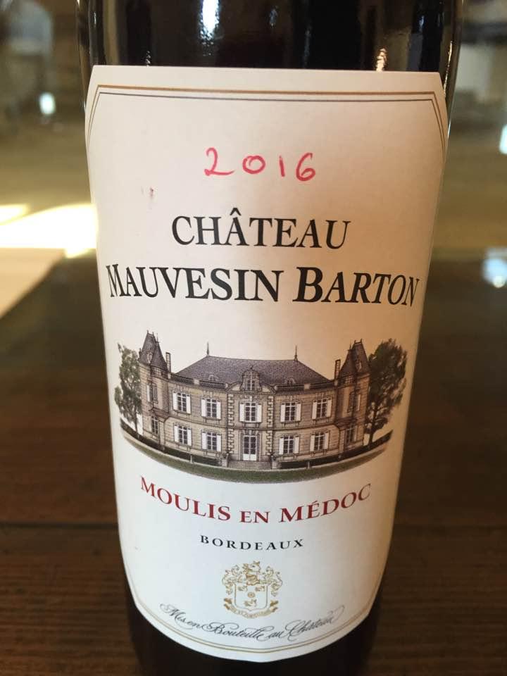 Château Mauvesin Barton 2016 – Moulis-en-Médoc