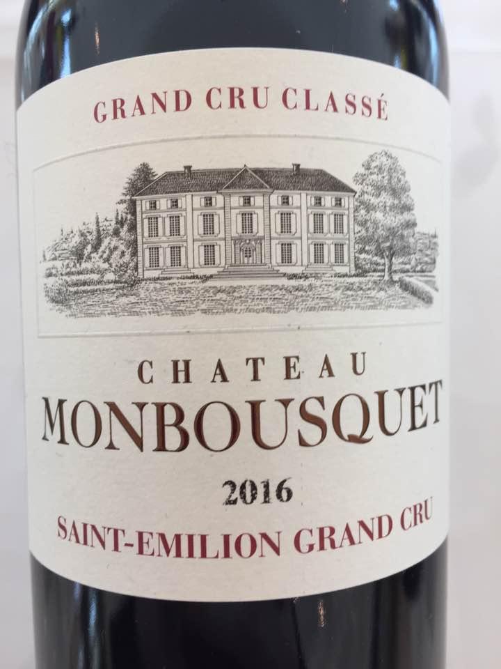 Château Monbousquet 2016 – Saint-Emilion Grand Cru Classé