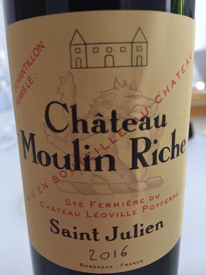 Château Moulin Riche 2016 – Saint-Julien