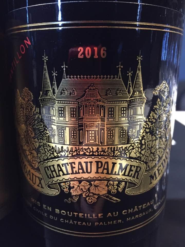 Château Palmer 2016 – Margaux, 3ème Cru Classé