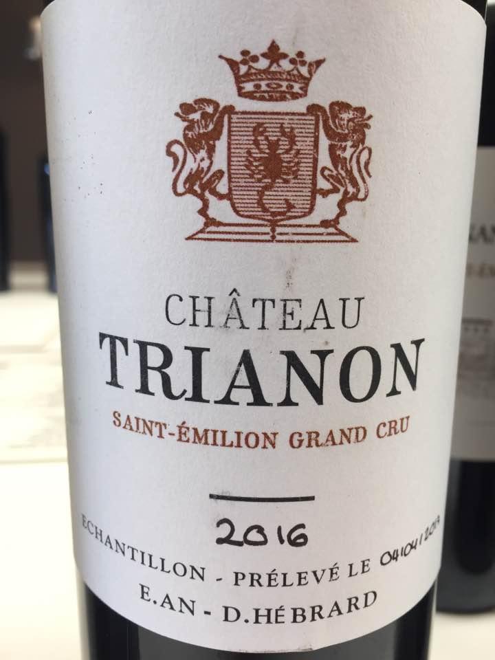 Château Trianon 2016 – Saint-Emilion Grand Cru