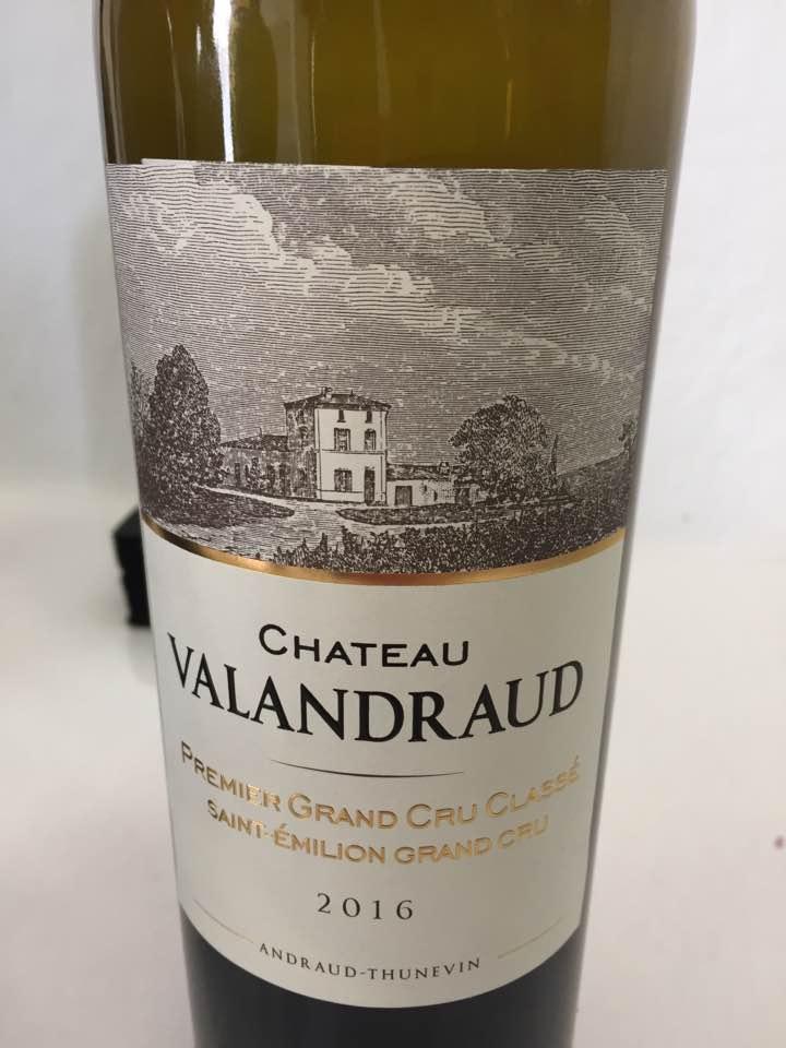 Château Valandraud 2016 – Saint-Emilion Grand Cru, 1er Grand Cru Classé B