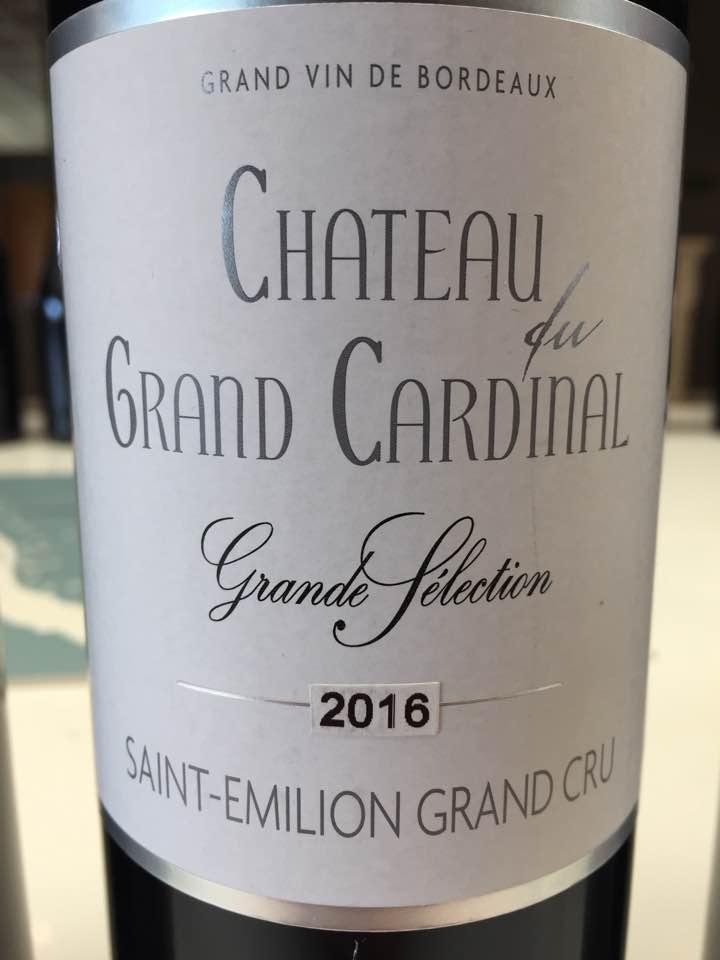 Château du Grand Cardinal 2016 – Saint-Emilion Grand Cru