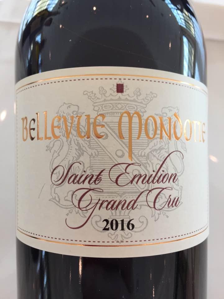 Château Bellevue Mondotte 2016 – Saint-Emilion Grand Cru