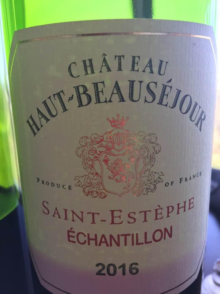 Château Haut-Beauséjour 2016 – Saint-Estèphe