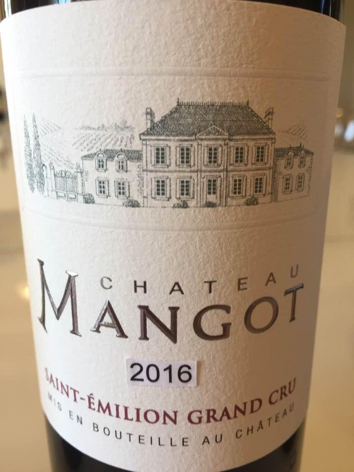 Château Mangot 2016 – Saint-Emilion Grand Cru