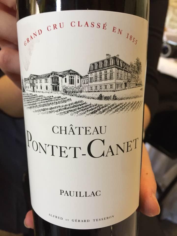 Château Pontet Canet 2016 – Pauillac, 5ème Cru Class