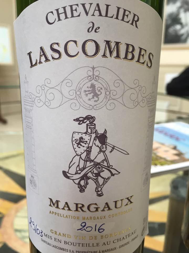 Chevalier de Lascombes 2016 – Margaux