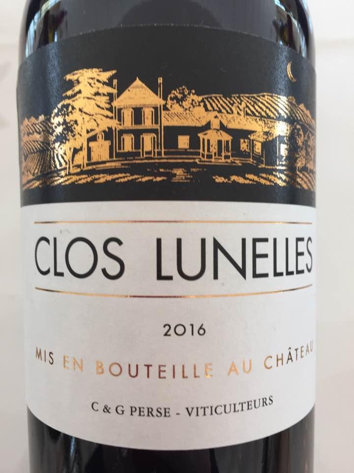 Clos Lunelle 2016 – Castillon Côtes-de-Bordeaux