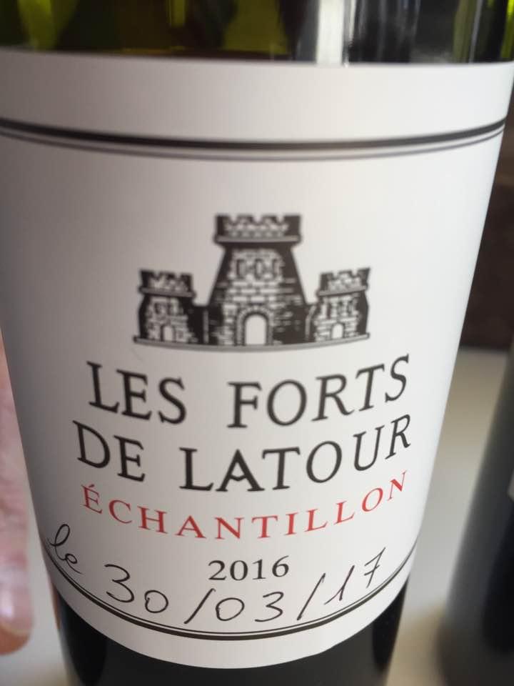 Les Forts de Latour 2016 – Pauillac