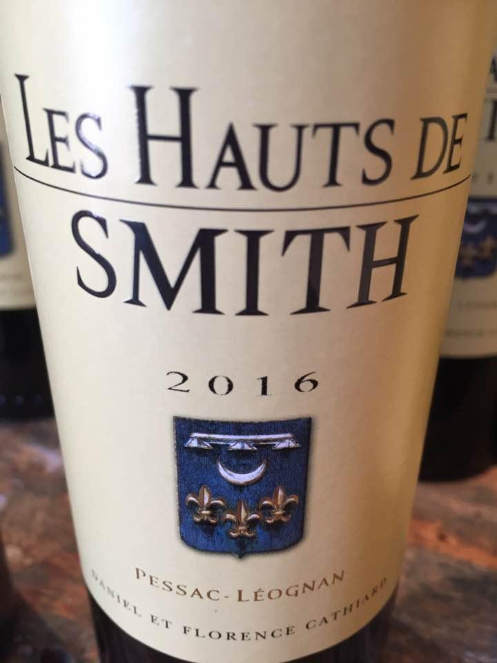 Les Hauts de Smith 2016 – Pessac-Léognan