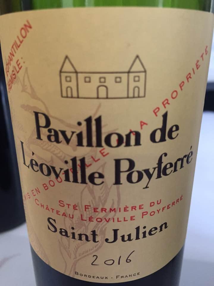 Pavillon de Léoville Poyferré 2016 – Saint-Julien