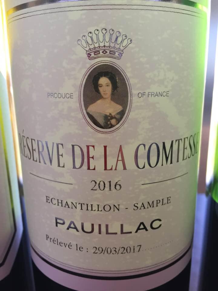 Réserve de la Comtesse 2016 – Pauillac