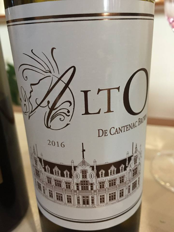 Alto de Cantenac-Brown 2016 – Bordeaux