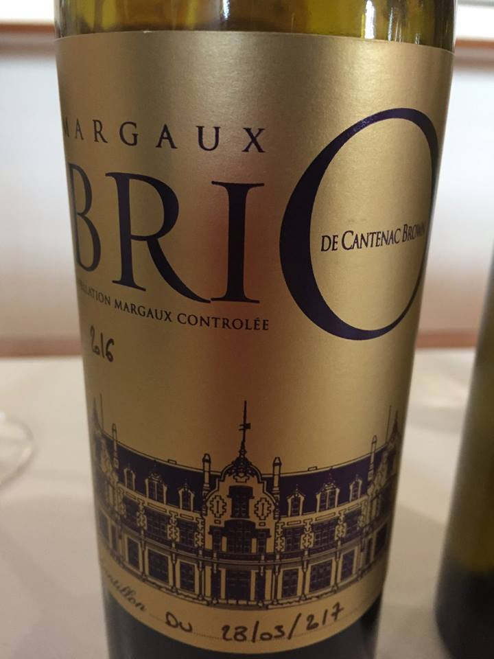 Brio de Cantenac-Brown 2016  – Margaux