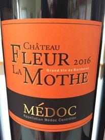 Château Fleur La Mothe 2016 – Médoc