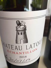 Grand Vin de Château Latour 2016 – 1er Cru Classé à Pauillac