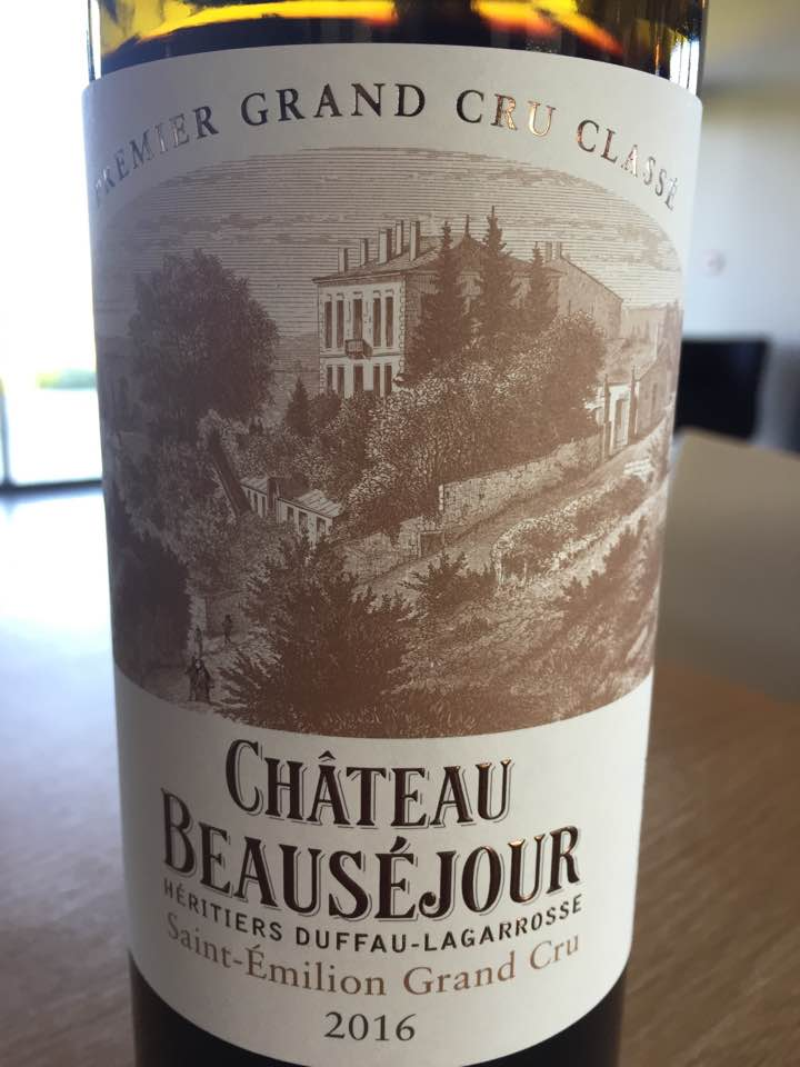 Château Beauséjour 2016 – Saint-Emilion Grand Cru Classé B