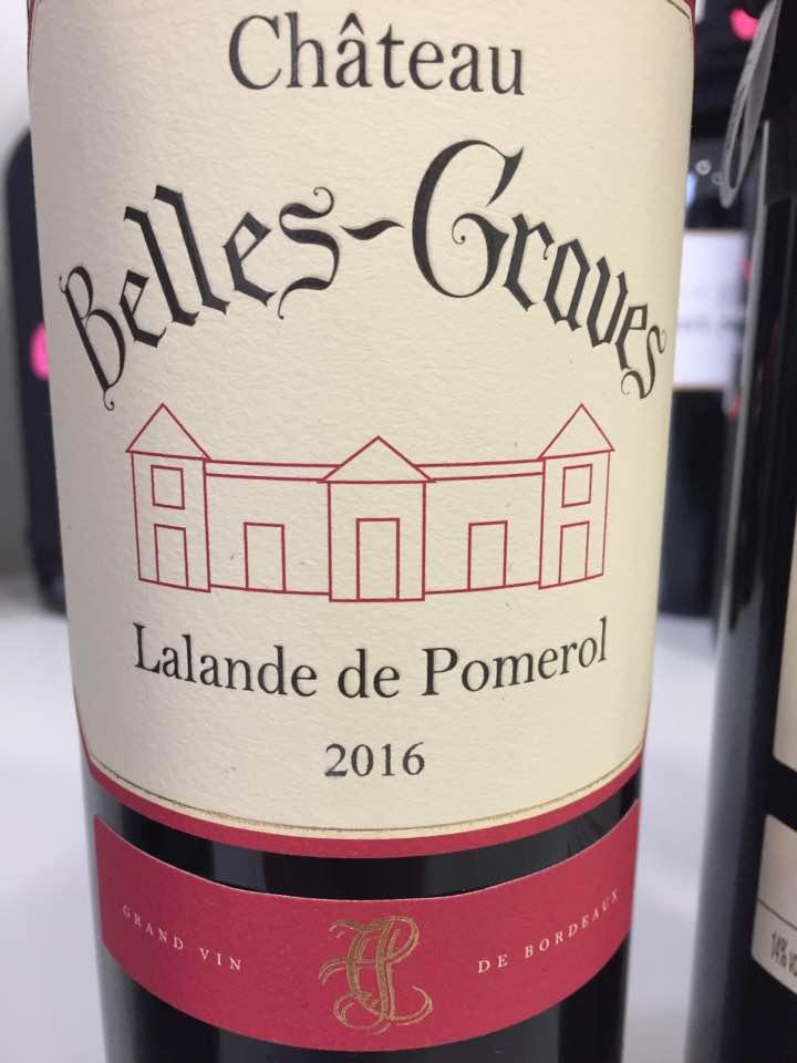 Château Belles-Graves 2016 – Lalande-de-Pomerol