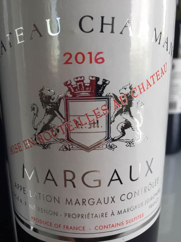 Château Charmant 2016 – Margaux
