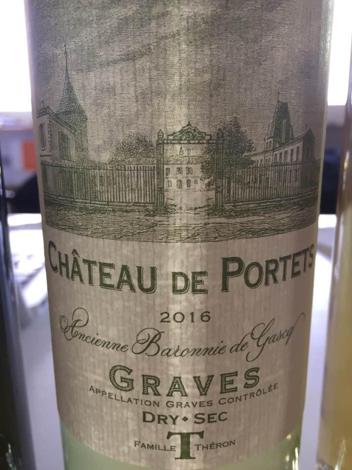 Château de Portets 2016 – Graves