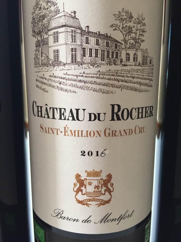 Château du Rocher 2016 – Saint-Emilion Grand Cru