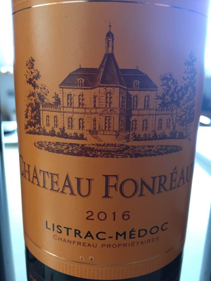 Château Fonréaud 2016 – Listrac-Médoc