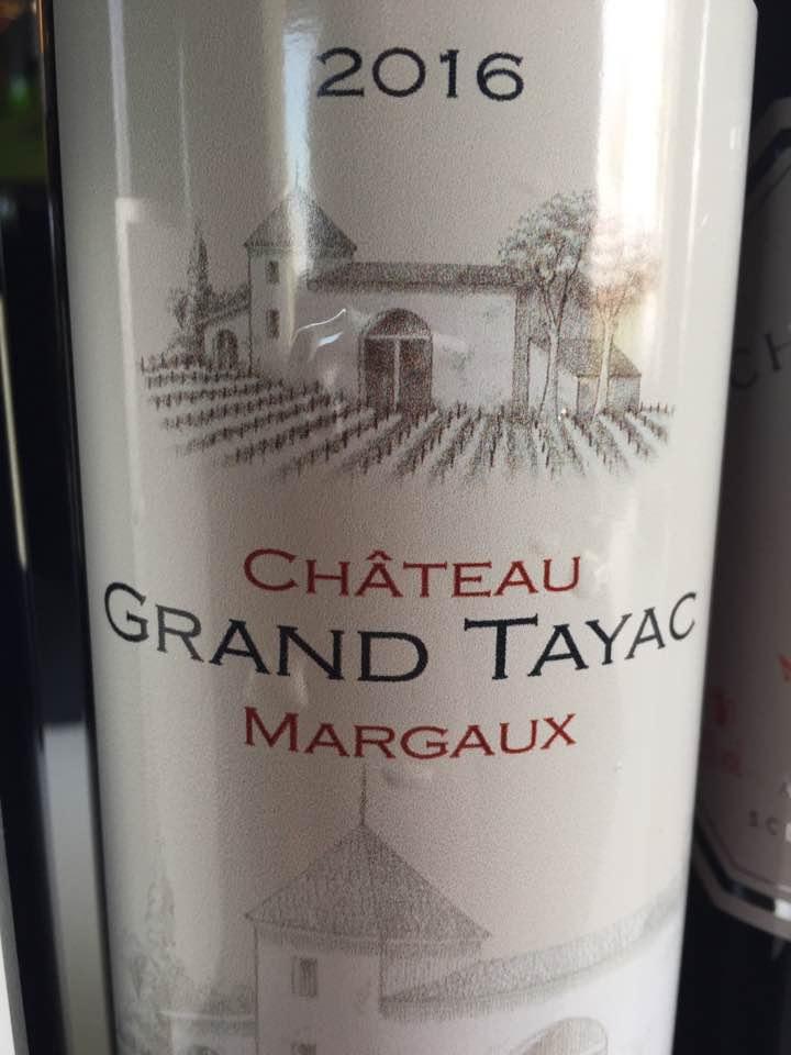 Château Grand Tayac 2016 – Margaux