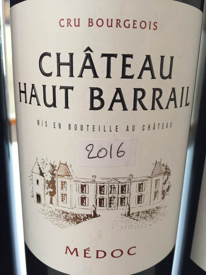 Château Haut-Barrail 2016 – Médoc