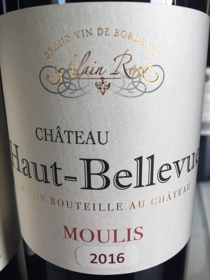 Château Haut Bellevue 2016 – Moulins-en-Médoc