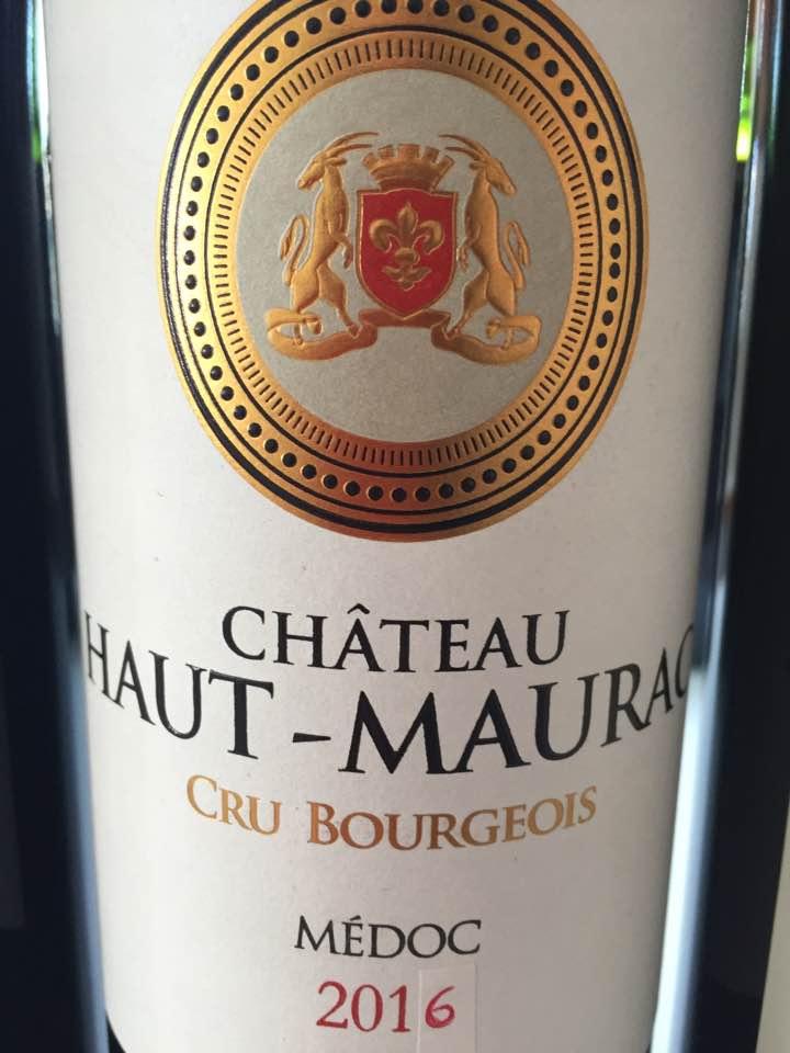 Château Haut-Maurac 2016 – Médoc
