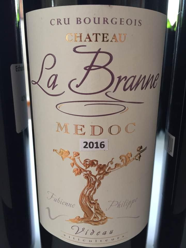 Château La Branne 2016 – Médoc